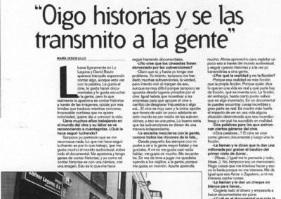 Entrevista - La Opinión - 2004
