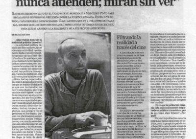Entrevista - La Opinión - 2009