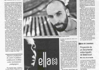Ella(s) - El Día - Entrevista - 2010