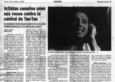 Un futuro para soñar - Diario de Avisos - 2000