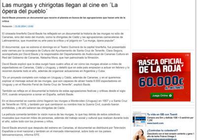 La murga - La Provincia - 2014