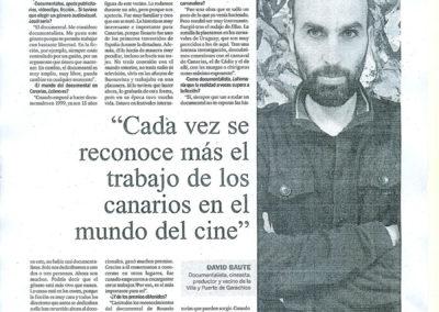 Entrevista - DA Isla Baja - 2012